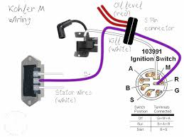 kohler engine ignition switch wiring diagram tractor parts with