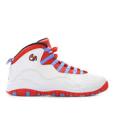 White Blue Orange Flag Nike Air Jordan 10 Retro U0027city Pack Chicago Chi U0027 U201cchicago Flag