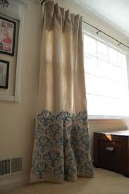 Smocked Burlap Curtains 20 Diy Drop Cloth Curtains For You To Make Guide Patterns