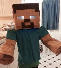 Minecraft Herobrine Halloween Costume Halloween Spellitaut