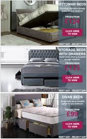 storage beds next day select day delivery