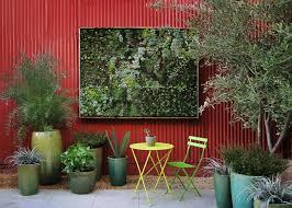 Backyard Feature Wall Ideas 13 Graceful Metal Outdoor Patio Wall 290530 Home Design Ideas