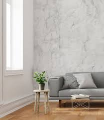 Wallpapers For Home Interiors Grey And White Marble Wallpaper Home And Business Wall Decor
