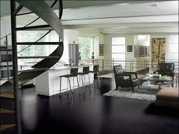 kitchen black leather tiles flooring this kitchen and family