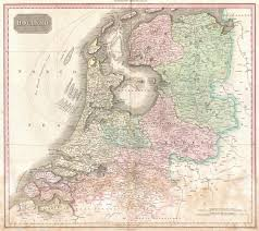 Map Of Netherlands File 1818 Pinkerton Map Of Holland Or The Netherlands