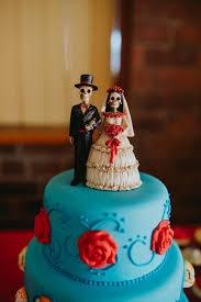 day of the dead wedding cake day of the dead rock n roll