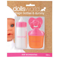 dolls world magic bottles and dummy amazon co uk toys u0026 games