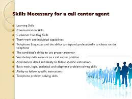 Sample Call Center Agent Resume by Callcenter Training