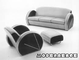 Streamline Moderne Furniture by Moderneage