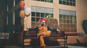 clowns balloons i ll give you a balloon creepy clowns terrorize community inside