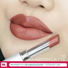 Wardah Lip Di Pasaran jual wardah longlasting lipstick 16 smooth latte di lapak wardah
