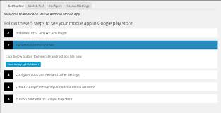 plugin for android androapp android ios mobile app for site