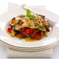 roasted mediterranean vegetable lasagne recipes delia online