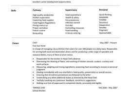 100 personal chef resume 100 sample chef resume resume template