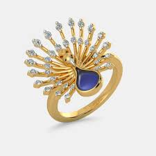 rings images the royal feather ring bluestone