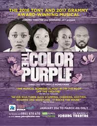 the color purple info joburg theatre