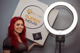 diva ring light nova super nova diva ring light unboxing youtube