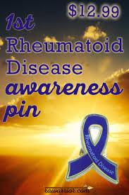ra ribbon rheumatoid arthritis awareness pin rheumatoid arthritis warrior