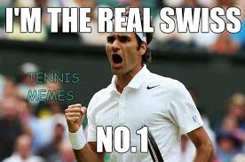 Tennis Memes - tennis memes on twitter world no 4 roger federer edges world no