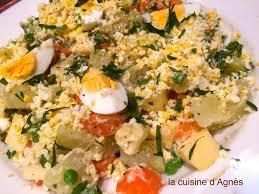 recette cuisine polonaise salade à la polonaise la cuisine d agnèsla cuisine d agnès
