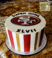 49ers super bowl cake buttercream cake with fondant detail u2026 flickr