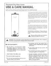 water heater manual montgomery ward 800 documents