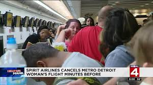 spirit halloween myrtle beach detroit travelers affected by spirit airlines cancellations