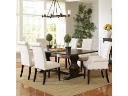coaster dining room sets coaster parkins double pedestal dining table beck u0027s furniture