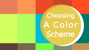 color cheme choosing a color scheme youtube