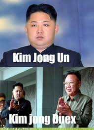 Kim Jong Un Memes - maybe at least spell deux correctly next time puns pun pictures