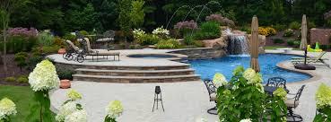 pool landscaping inground swimming pools by jim hinson