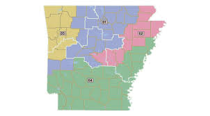 us house of representatives district map for arkansas redistricting in arkansas after the 2010 census ballotpedia