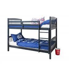 Brighton Single Bunk Bed In Blue Noa  Nani - Single bunk beds