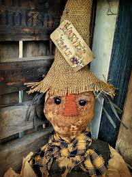 primitive scarecrow doll fall decor primitive halloween