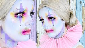 halloween makeup cute cute clown halloween makeup tutorial cherry wallis youtube