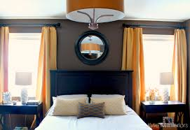 Dark Wood Furniture Dark Bedroom With Gold And Yellow Accents With Dark Wood Furniture