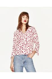 print blouses zara print s shirts blouses compare prices and buy