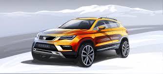 seat ateca interior 2016 seat ateca conceptcarz com