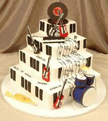 39 best music cakes images on pinterest music cakes guitar cake