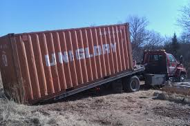 shipping container delivery elysian fields project