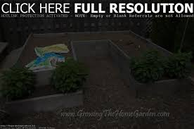 designing vegetable garden layout raised bed garden plans vegetable home outdoor decoration