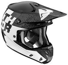 matte black motocross helmet thor verge tach helmet revzilla