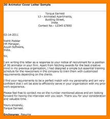 11 animation cover letter letter adress