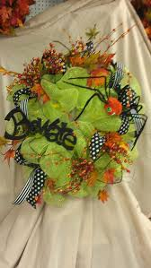 Halloween Wreath Ideas Front Door 89 Best Deco Mesh Wreath Ideas Images On Pinterest Wreath Ideas