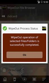 wipeout security tool android apps on google play