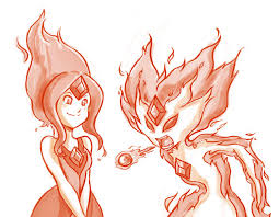 adventure time flame princess sketch by tamura on deviantart