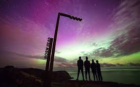how long do the northern lights last northern lights turned the skies of ireland green last night