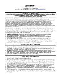 Information Technology Resume Skills Click Here To Download This Director Of Technology Resume Template