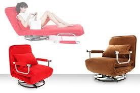 50 off 2 in 1 rotating chair u0026 foldable sofa bed for rm399