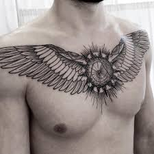 neck wing tattoos 79 cool tattoo ideas for men inkprofy